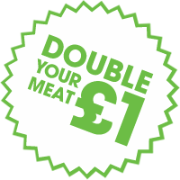 Double meat for £1